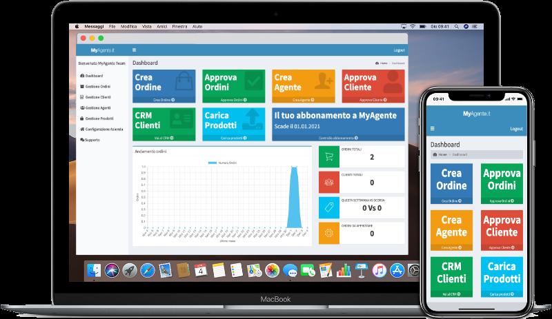 MyAgente - Software gestione ordini