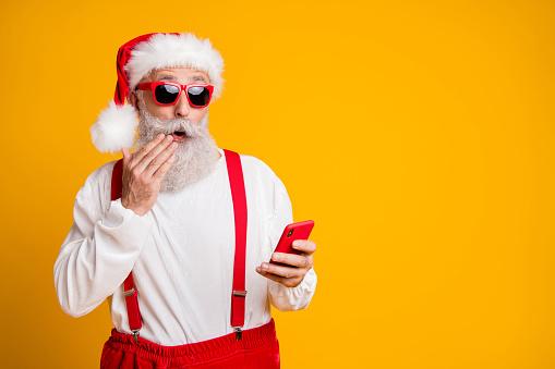 Babbo Natale e suo percorso